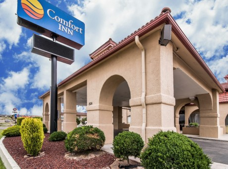 Comfort Inn Santa Rosa - Hotel Entrance
